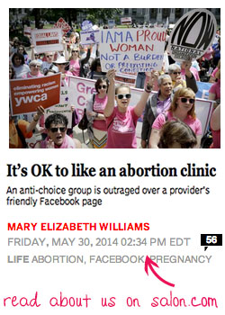 Read about Bronx Abortion on Salon.com - article by Mary Elizabeth Williams,5/30/2014