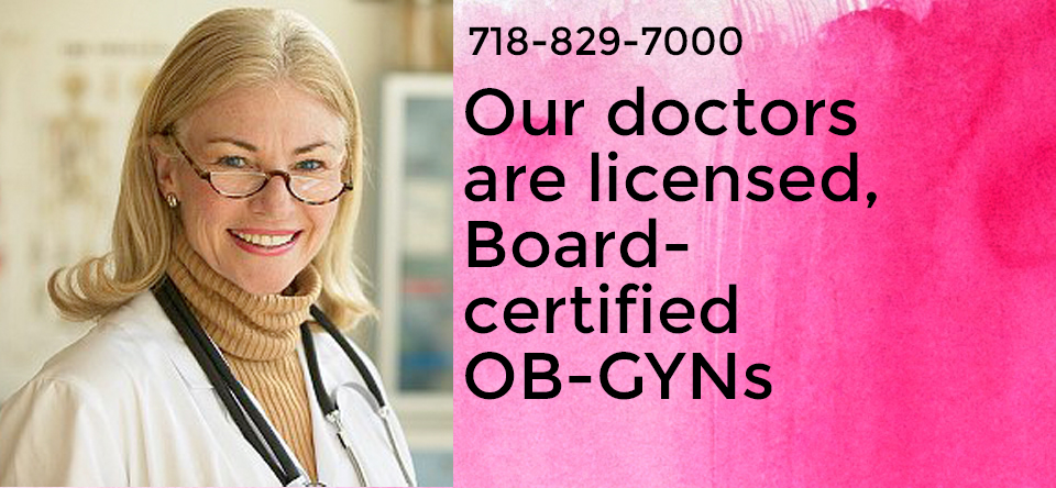 Licensed NYS OBS GYN Physicians